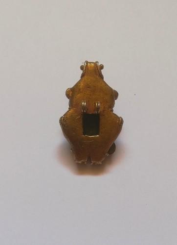 Ancient Art & Antiquities  - Authentic Tairona lost wax tumbaga pendant