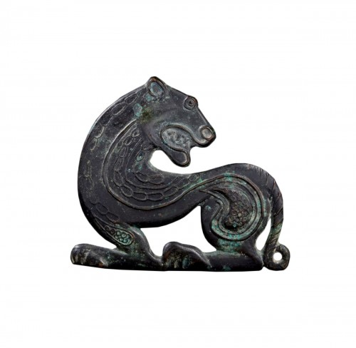 Scythian bronze ornament