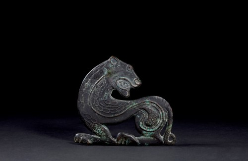Ancient Art  - Scythian bronze ornament