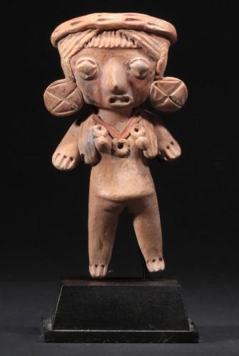 <= 16th century - Michoacan female figure