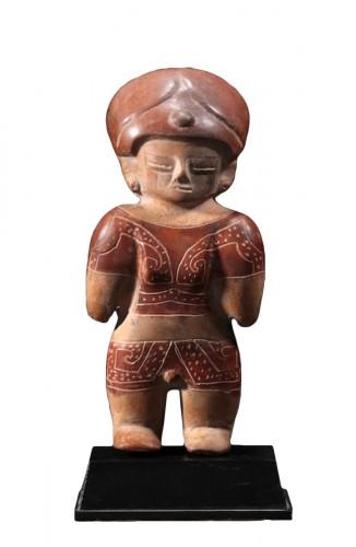 Chorrera terracotta figure
