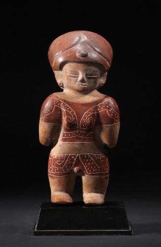 Chorrera terracotta figure - Ancient Art Style