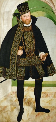 Curiosities  - August I, Duke of Saxony, Prince-Elector of the Holy Roman Empire.
