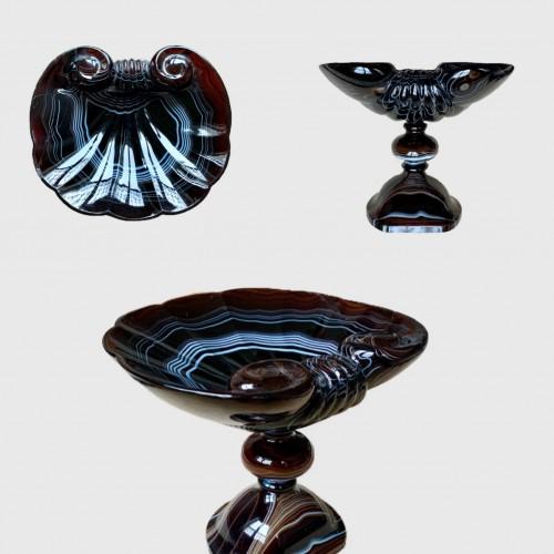 An agate cup -