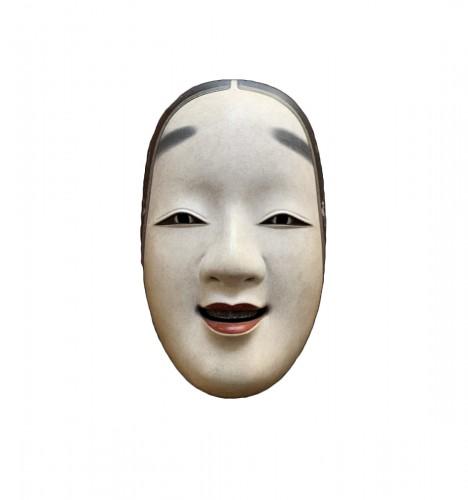 Ko-omote noh theatre mask