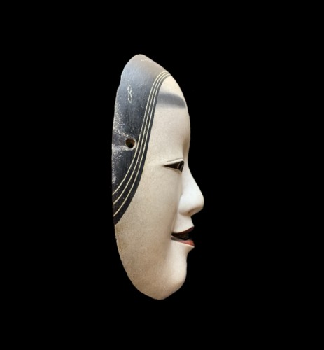 Ko-omote noh theatre mask -