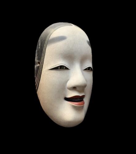 18th century - Ko-omote noh theatre mask
