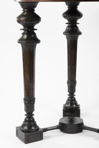 Antiquités - Etruscan gueridon table first half 19th century