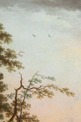 Antiquités - Shepherd's landscape - CLAUDOT de Nancy 18th century