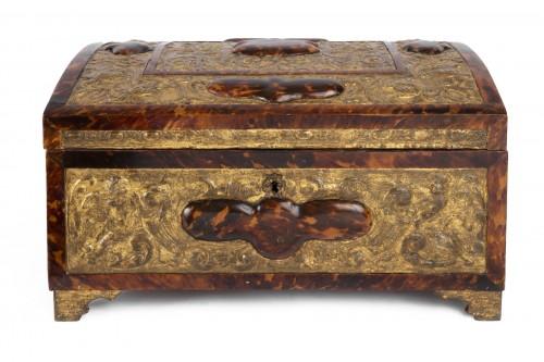 Spanish-Flemish chest mid 17th century