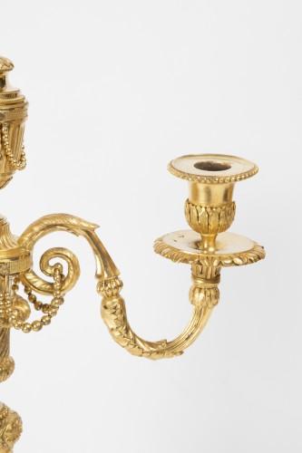 18th century - Table candlesticks Louis XVI period late 18th century