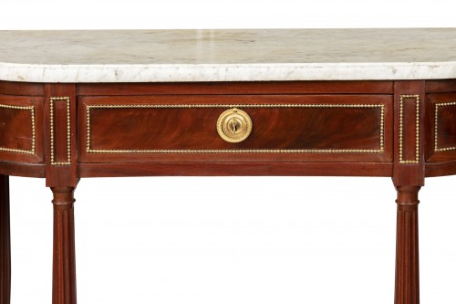 Mahogany sideboard brackets pair Louis XVI period 18th century - Furniture Style Louis XVI