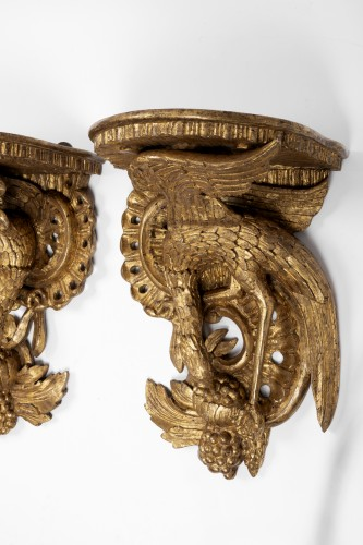 Furniture  - Wall brackets pair England middle 18th century