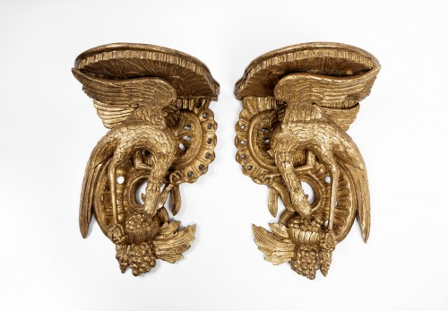 Wall brackets pair England middle 18th century -