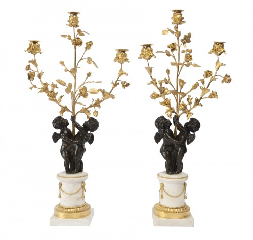 Candelabras Pair Louis 16 period 18th
