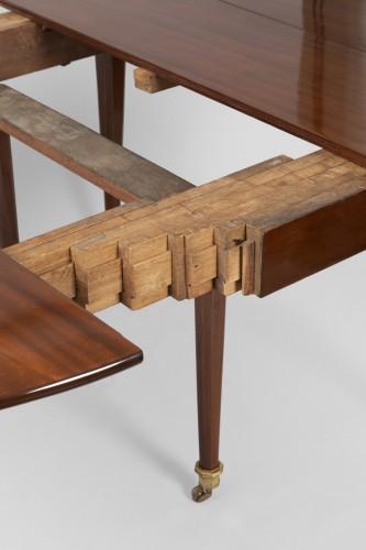 18th century - Big six feet mahogany table Louis XVI period  18th