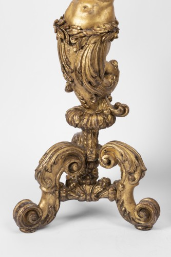 Porte-torchere pair Louis XVI period early 18th -