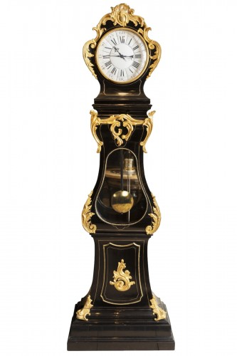 "Ebony ""Régulateur"" Louis XV period mid 18th"