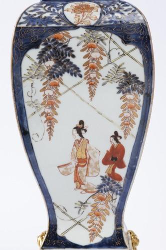 Japan porcelain vases pair 18th - Louis XV
