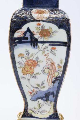 Louis XV - Japan porcelain vases pair 18th
