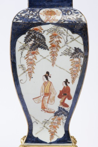 Antiquités - Japan porcelain vases pair 18th