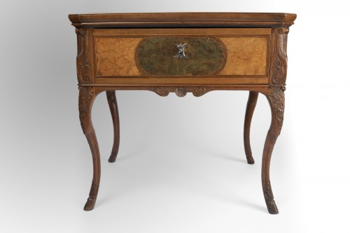 Furniture  - Table by Thomas HACHE circa 1700