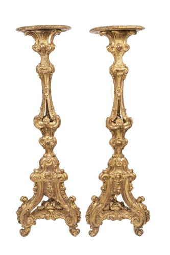 Porte-torchere pair Régence period by SLODTZ
