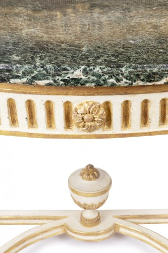 Furniture  - Big consoles pair Louis XVI period late 18th