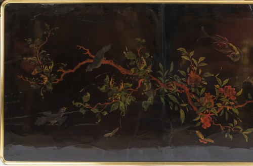 18th century - Chinese lacquered table top Louis XV period