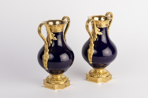 Empire - Sevres vases pair early 19th
