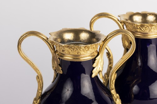 Antiquités - Sevres vases pair early 19th