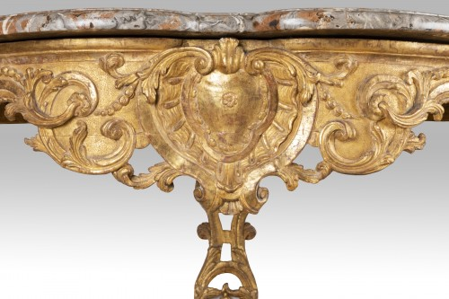 Two feet Régence console 18th - French Regence