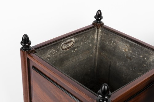 Mahogany planters pair late 18th - Decorative Objects Style Directoire