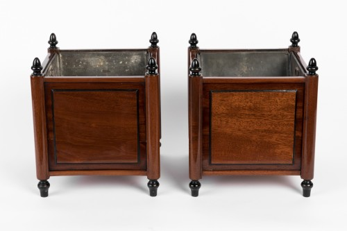 18th century - Mahogany planters pair late 18th