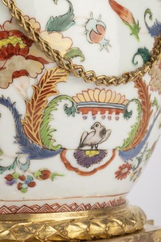 18th century - Mounted porcelain vase 18th