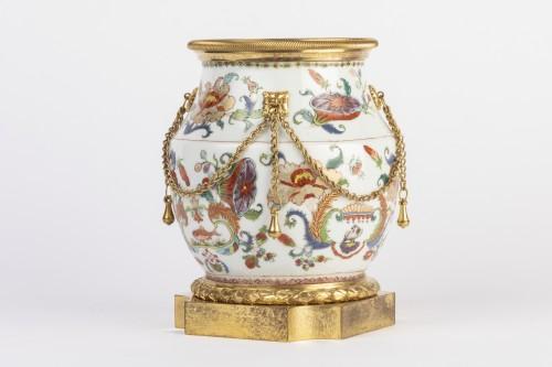 Louis XVI - Mounted porcelain vase 18th