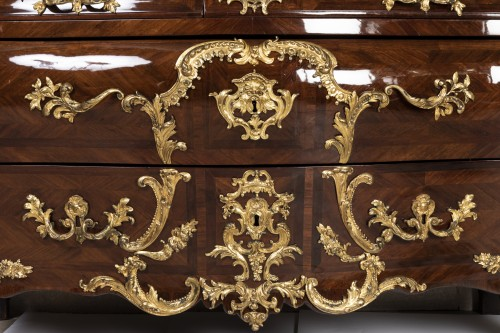 Régence period chest 18th by DOIRAT - Furniture Style French Regence
