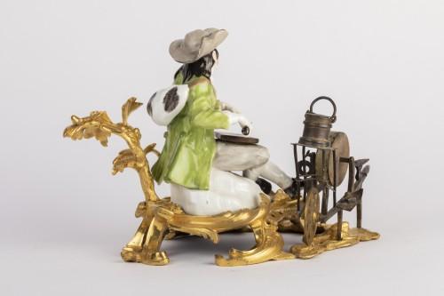 Meissen porcelain grinder Louis XV period mid 18th -