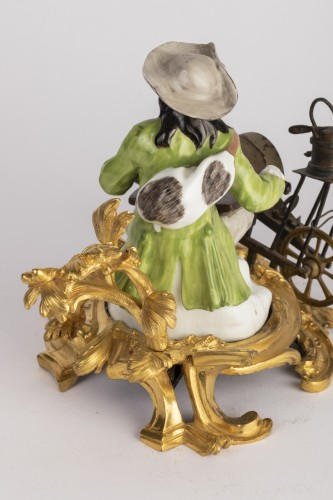18th century - Meissen porcelain grinder Louis XV period mid 18th