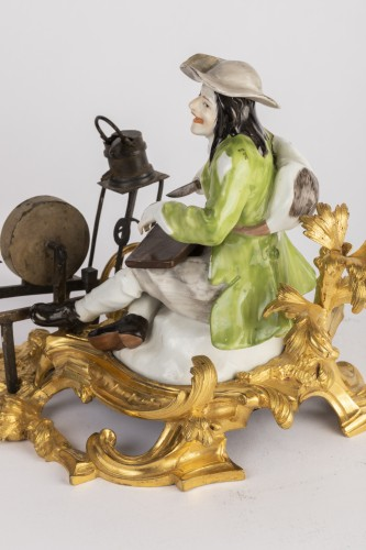 Meissen porcelain grinder Louis XV period mid 18th - Louis XV