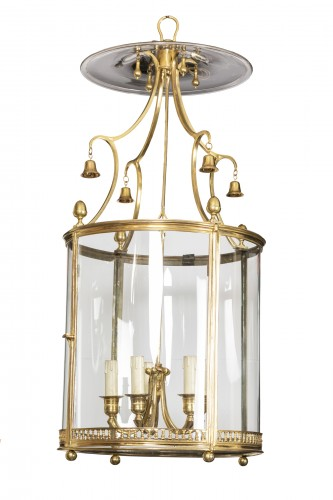Louis XVI period lantern late 18th century - Lighting Style Louis XVI