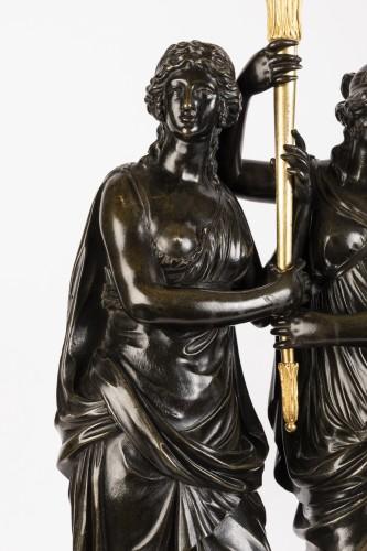 Louis XVI - Paire of louis XVI candelabras late 18th