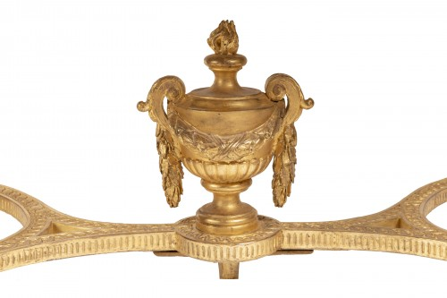 Gilded wood console Louis XVI period 18th century -