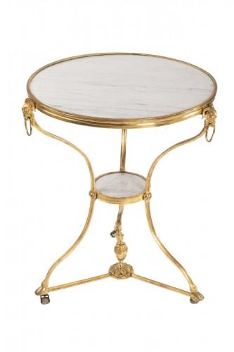 "Bronze ""gueridon"" Louis XVI period late 18th"