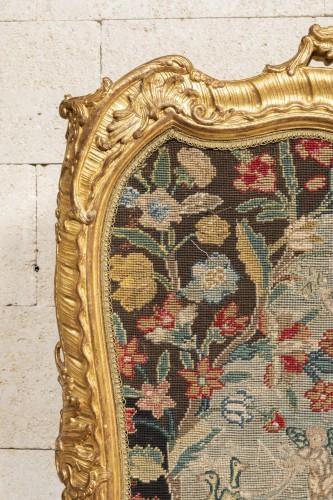 Fireplace Louis XV period mid 18th - Louis XV