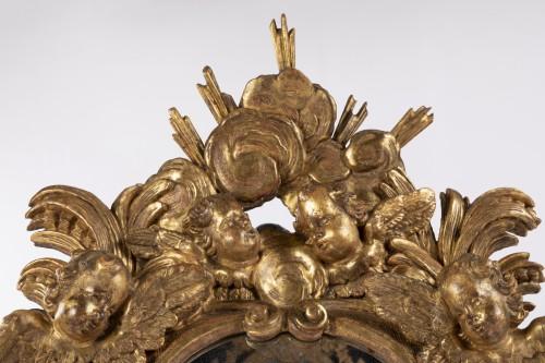 Mirrors, Trumeau  - Pair mirrors Louis XIV period late 17th