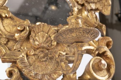Pair mirrors Louis XIV period late 17th -