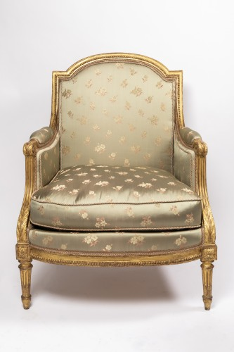"Louis XVI period ""bergères"" stamped SENE - Seating Style Louis XVI"
