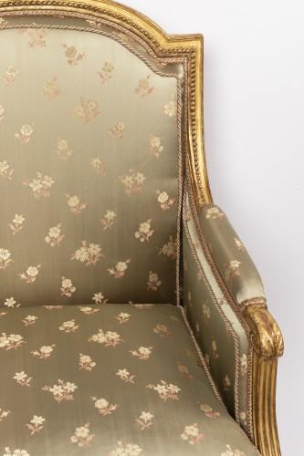 "Louis XVI period ""bergères"" stamped SENE -"