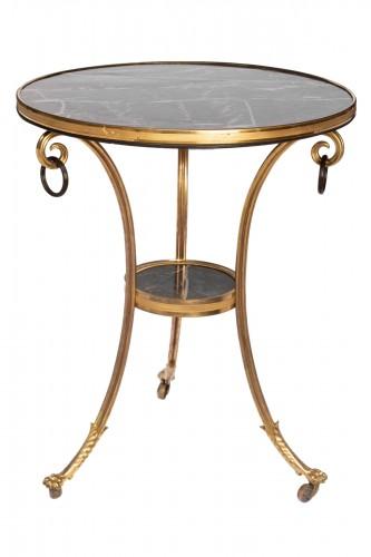 Gilded bronze guéridon Louis XVI period